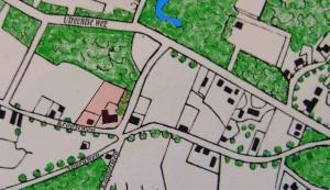 Situatie in 1840 als buitenplaats gebouwd is