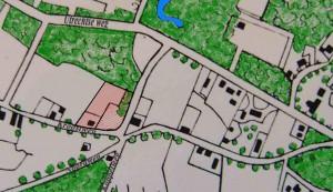 Grond waarop de buitenplaats wordt gebouwd in 1838